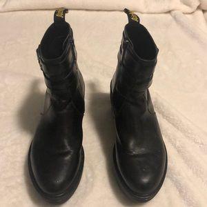 Platform Doc Martens boots